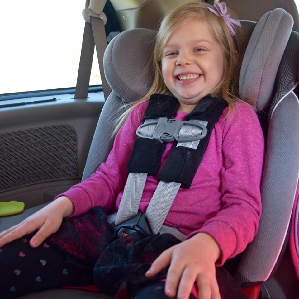 Bucklebopper Car Seat Green